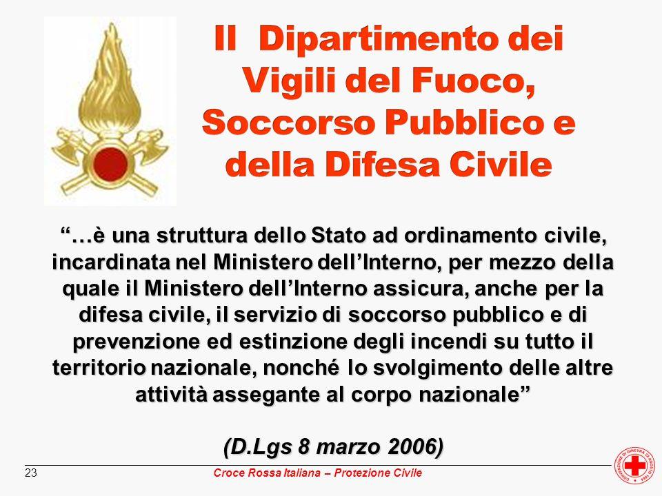 ________________________________________________________________________________________________ Croce Rossa Italiana – Protezione Civile 23 …è una st