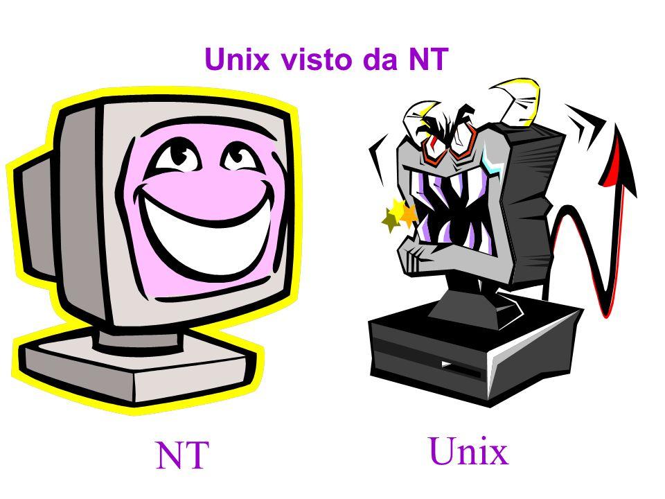 NT visto da UNIX NT Unix