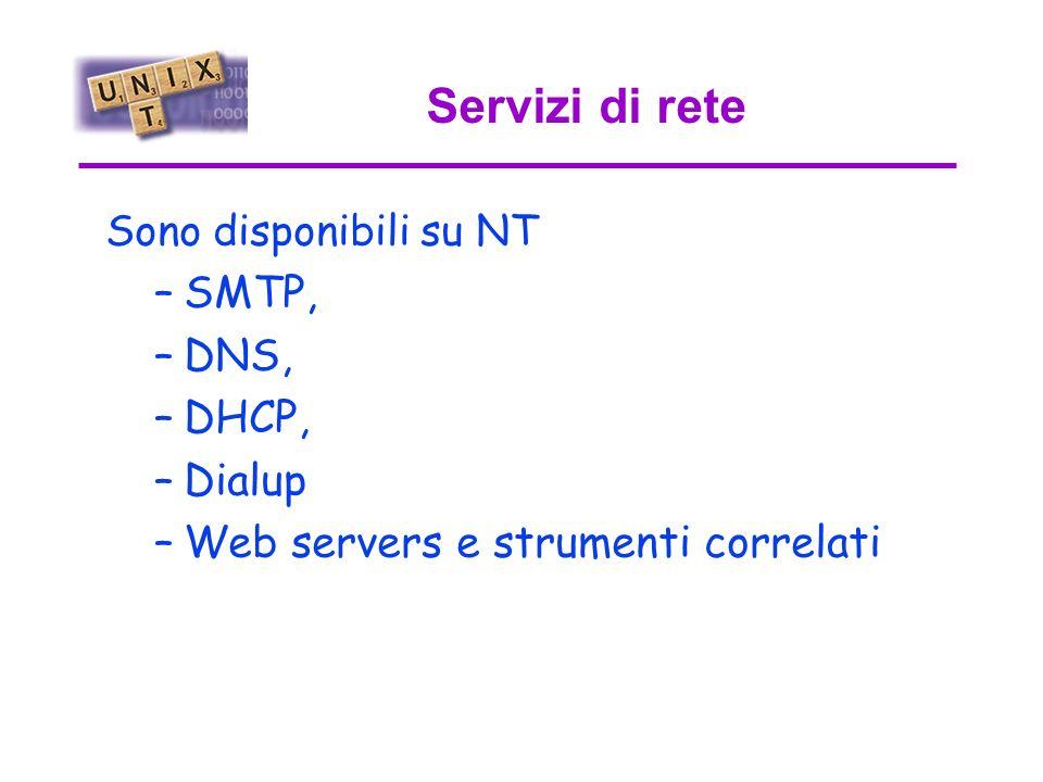NTS LPD PRT1 Mac LPDUnix NTW NETBIOS LPR