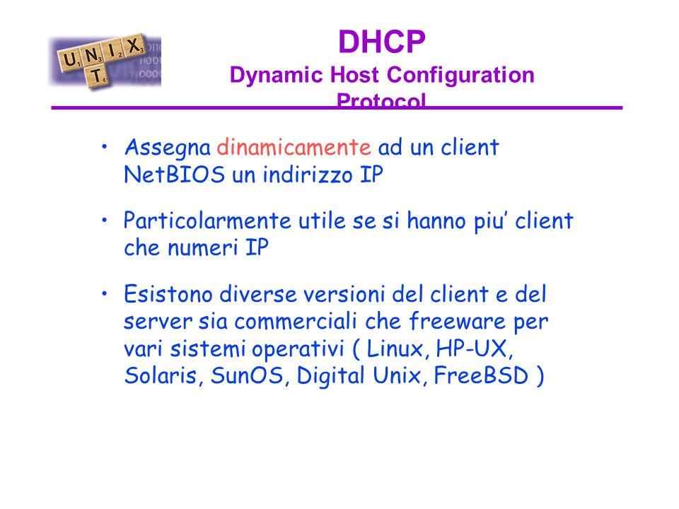 Servizi di rete Sono disponibili su NT –SMTP, –DNS, –DHCP, –Dialup –Web servers e strumenti correlati