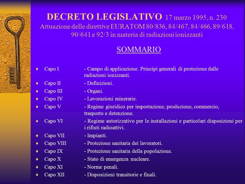DECRETO LEGISLATIVO 17 marzo 1995, n.