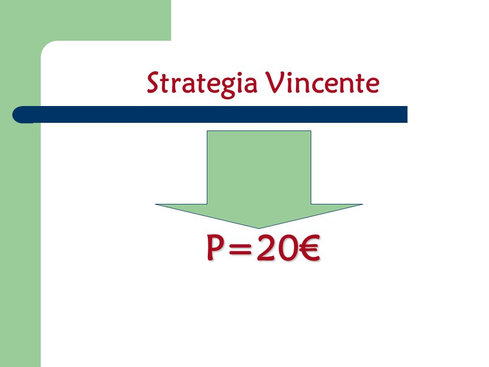 Strategia Vincente P=20