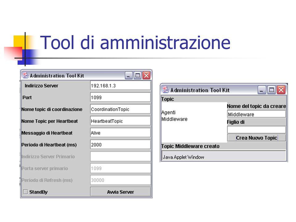 Tool di amministrazione
