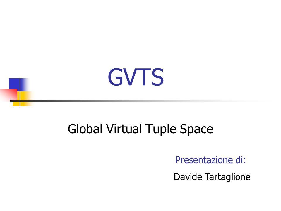 GVTS Global Virtual Tuple Space Davide Tartaglione Presentazione di: