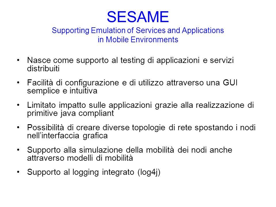OS JVM SESAME 2 01 OS JVM ApplicationInterface OS JVM ApplicationInterface JVM ApplicationInterface Calcolo Shortest Path