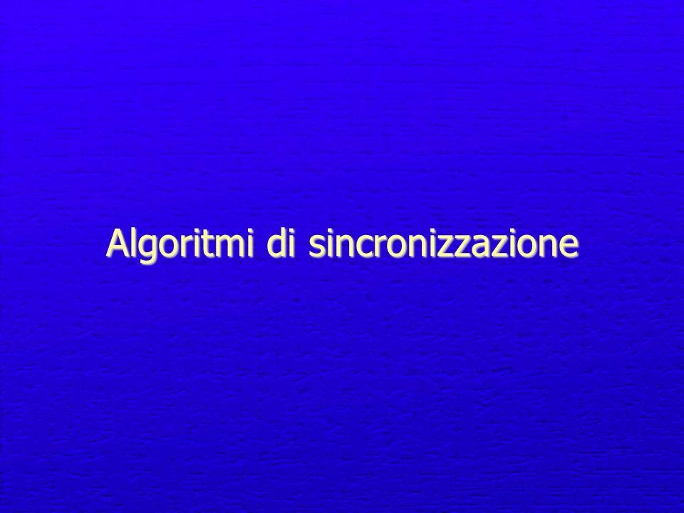 Algoritmi di sincronizzazione