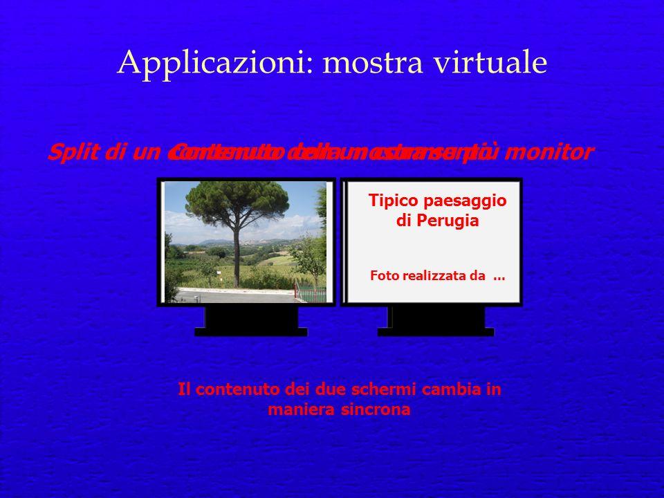 Applicazioni: mostra virtuale Ciao Tipico paesaggio di Perugia Foto realizzata da...