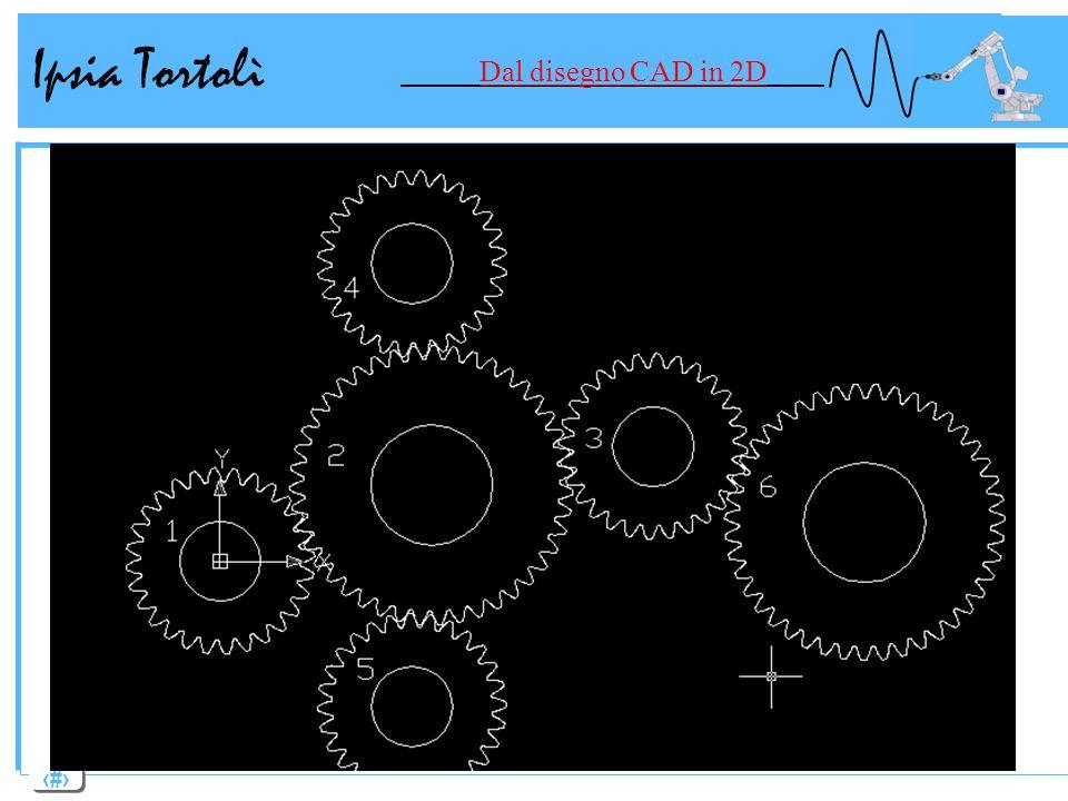 12 Ipsia Tortolì Dal disegno CAD in 2D