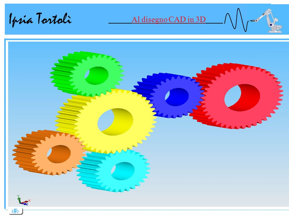 13 Ipsia Tortolì Al disegno CAD in 3D