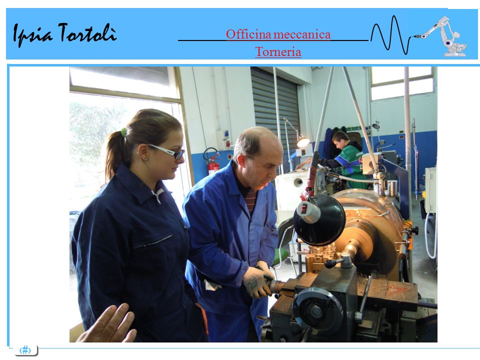 7 Ipsia Tortolì Officina meccanica Reparto Fresatura
