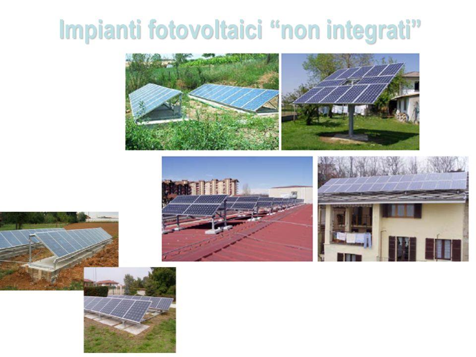 Impianti fotovoltaici non integrati