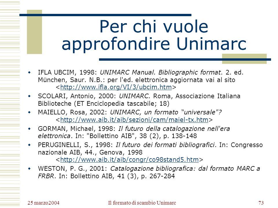 25 marzo2004 Gli Opac72 DallOPAC ai Portali Lo sviluppo dellipertestualità e del Web favoriscono diverse soluzioni per la cooperazione e lintegrazione