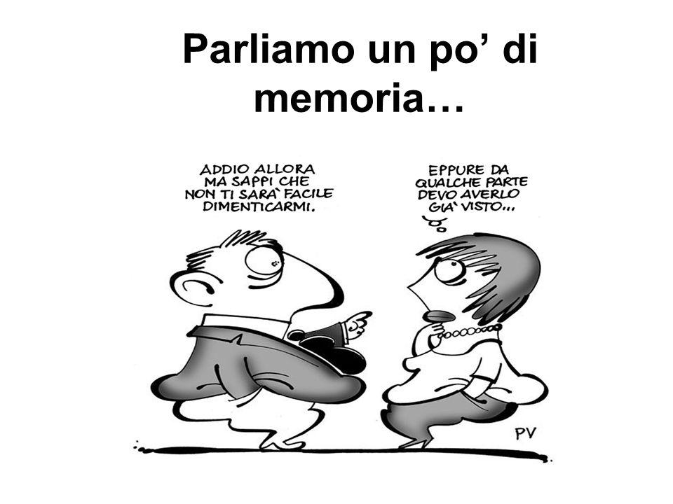 Parliamo un po di memoria…