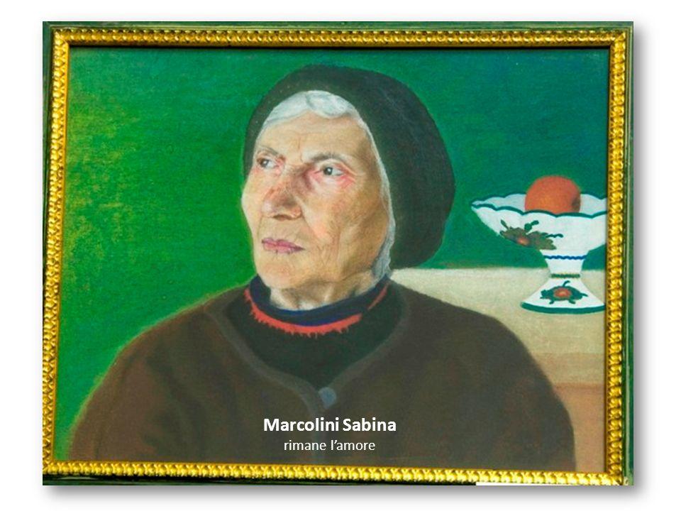 Marcolini Sabina rimane lamore