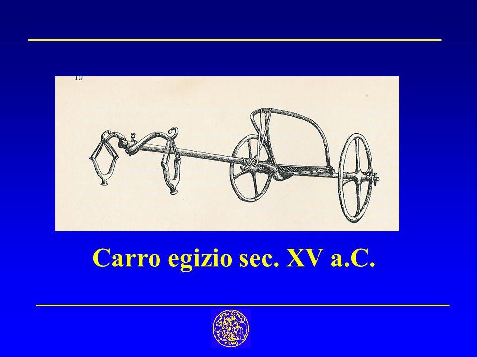 Carro egizio sec. XV a.C.