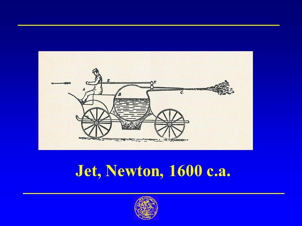 Jet, Newton, 1600 c.a.