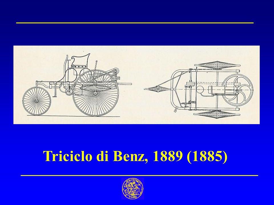 Triciclo di Benz, 1889 (1885)