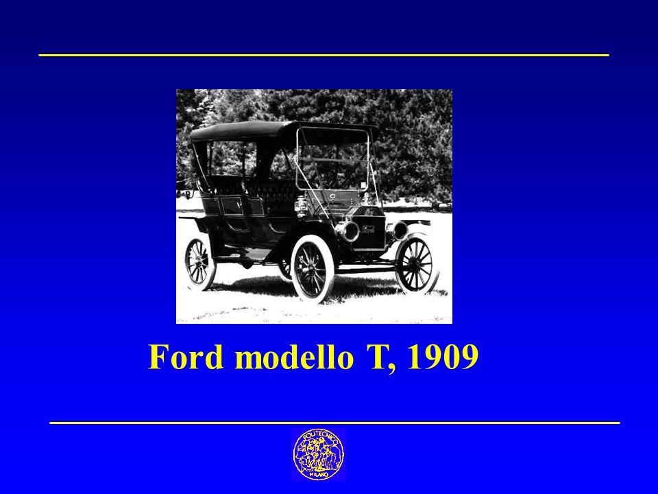 Ford modello T, 1909