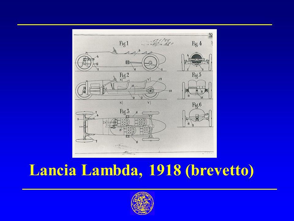 Lancia Lambda, 1918 (brevetto)