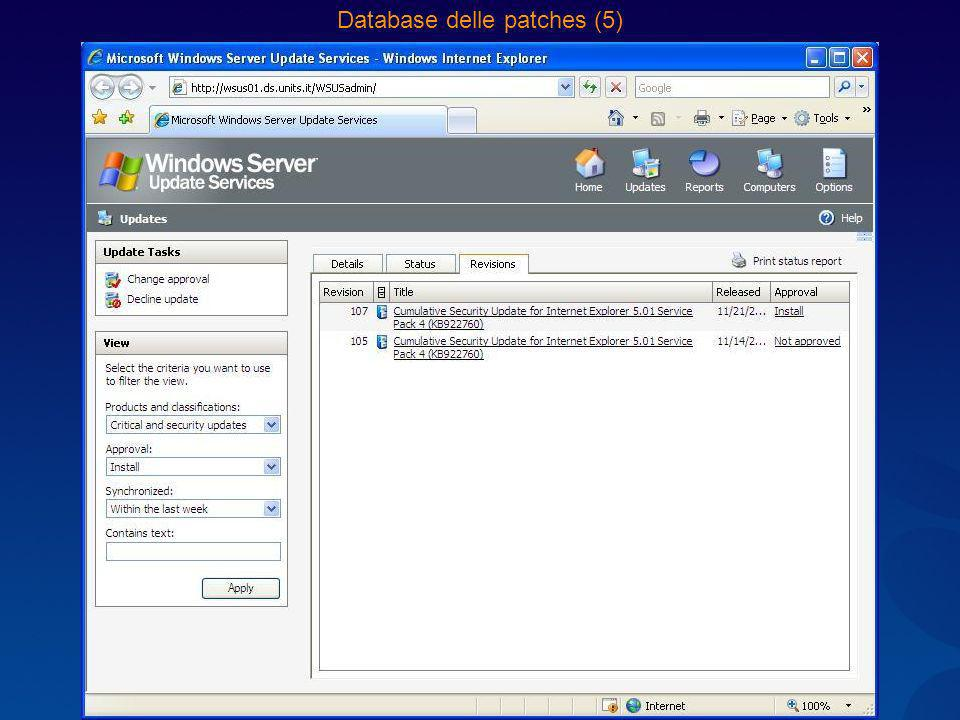 Database delle patches (5)