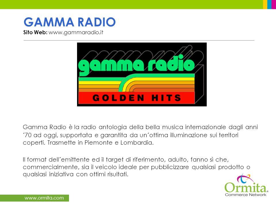 www.ormita.com RADIO REPORTER Sito Web: www.radioreporter.it Radio Reporter, una delle emittenti principali della Lombardia, si distingue per il suo stile semplice e diretto, offrendo programmi originali.