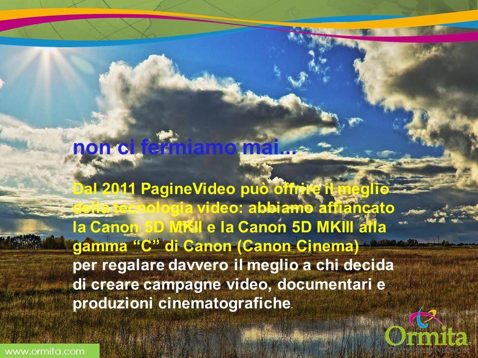 www.ormita.com non ci fermiamo mai...