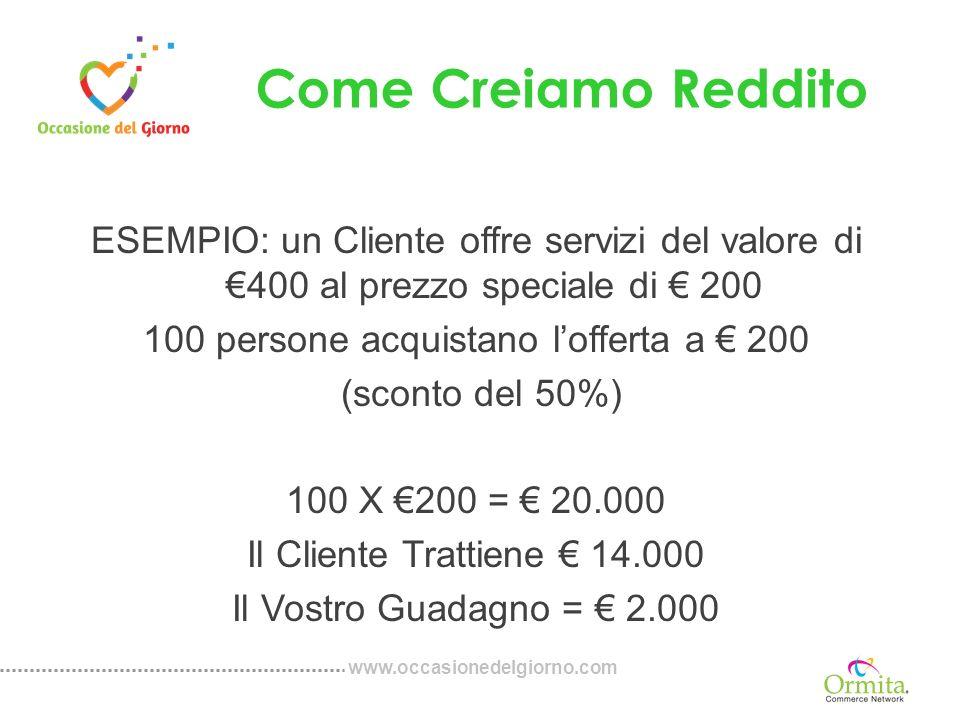 www.occasionedelgiorno.com Categorie Principali Alimentari Intrattenimento Fashion Accessori Automotive Bellezza Dieta e Fitness Elettronica Salute & Benessere Finanza Viaggi Beni di Largo Consumo