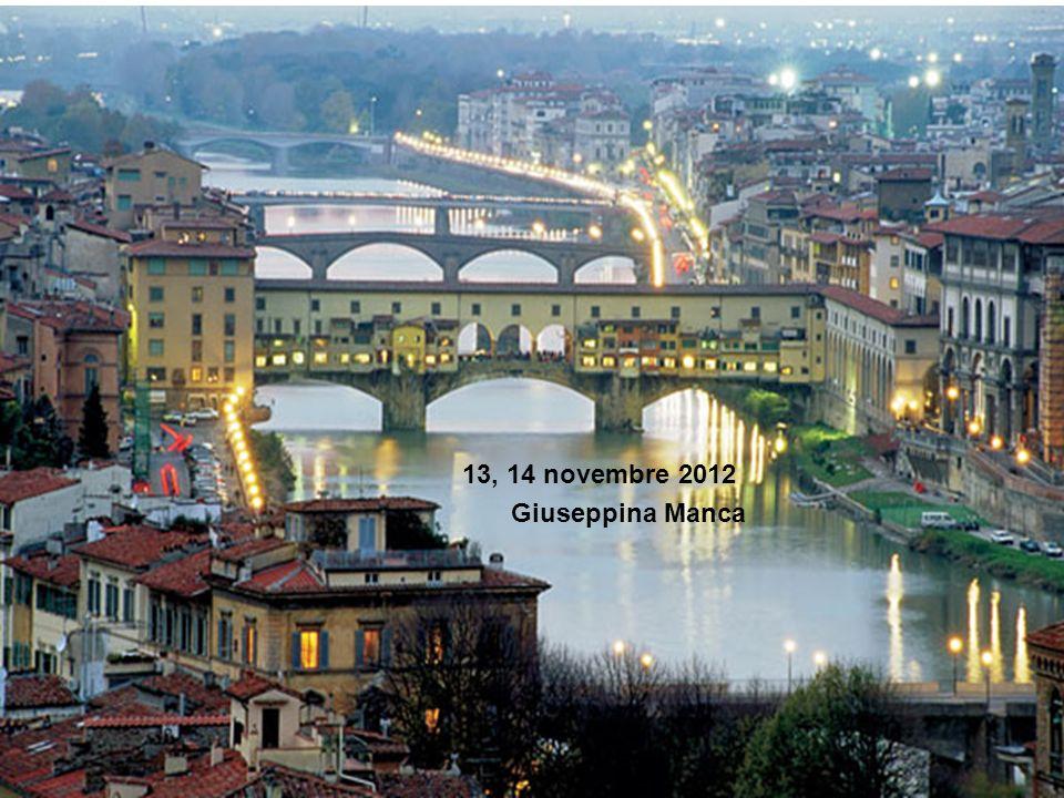 13, 14 novembre 2012 Giuseppina Manca