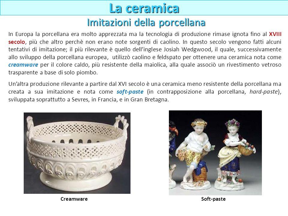 In Europa la porcellana era molto apprezzata ma la tecnologia di produzione rimase ignota fino al XVIII secolo, più che altro perchè non erano note so