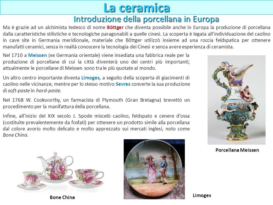 Ma è grazie ad un alchimista tedesco di nome Böttger che diventa possibile anche in Europa la produzione di porcellana dalla caratteristiche stilistic