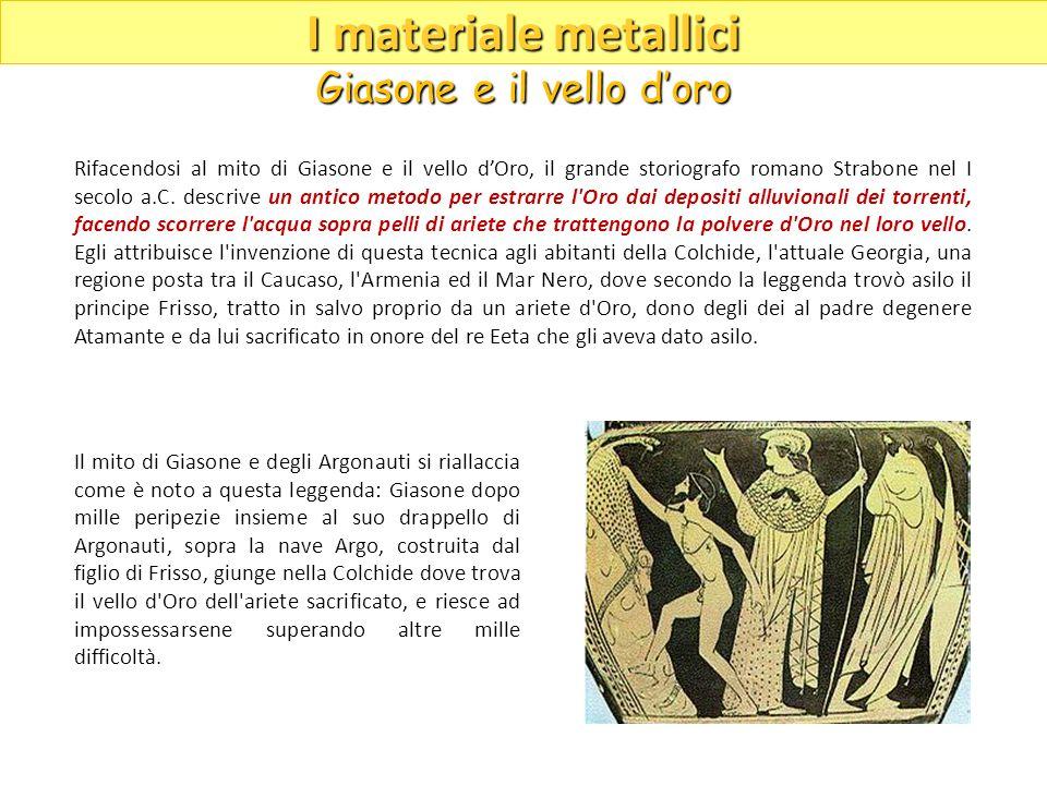 Il mito di Giasone e degli Argonauti si riallaccia come è noto a questa leggenda: Giasone dopo mille peripezie insieme al suo drappello di Argonauti,