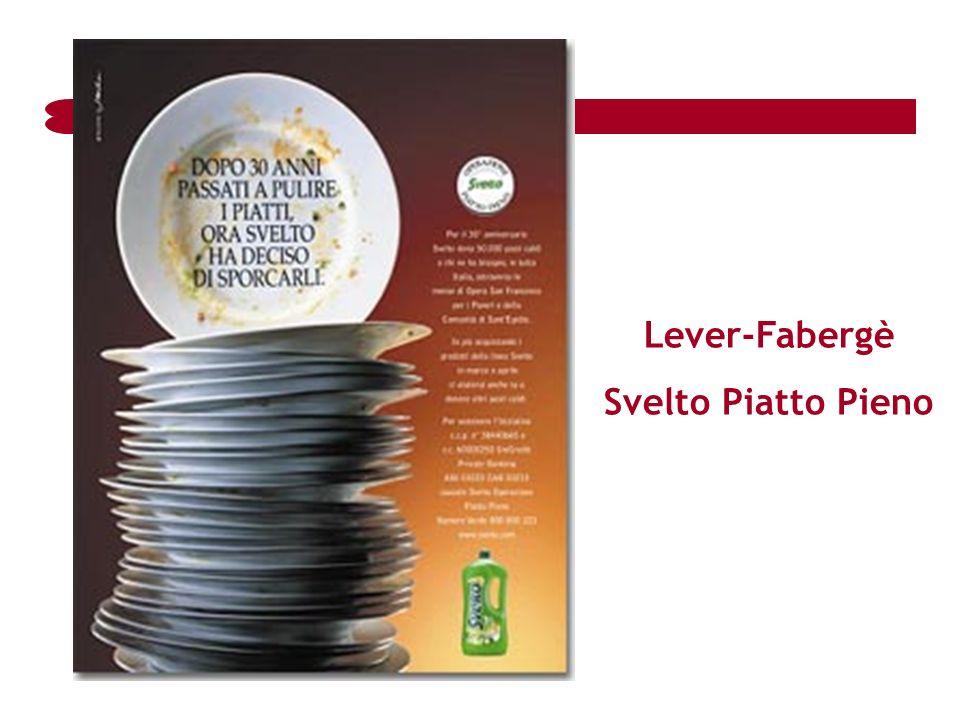 Lever-Fabergè Svelto Piatto Pieno