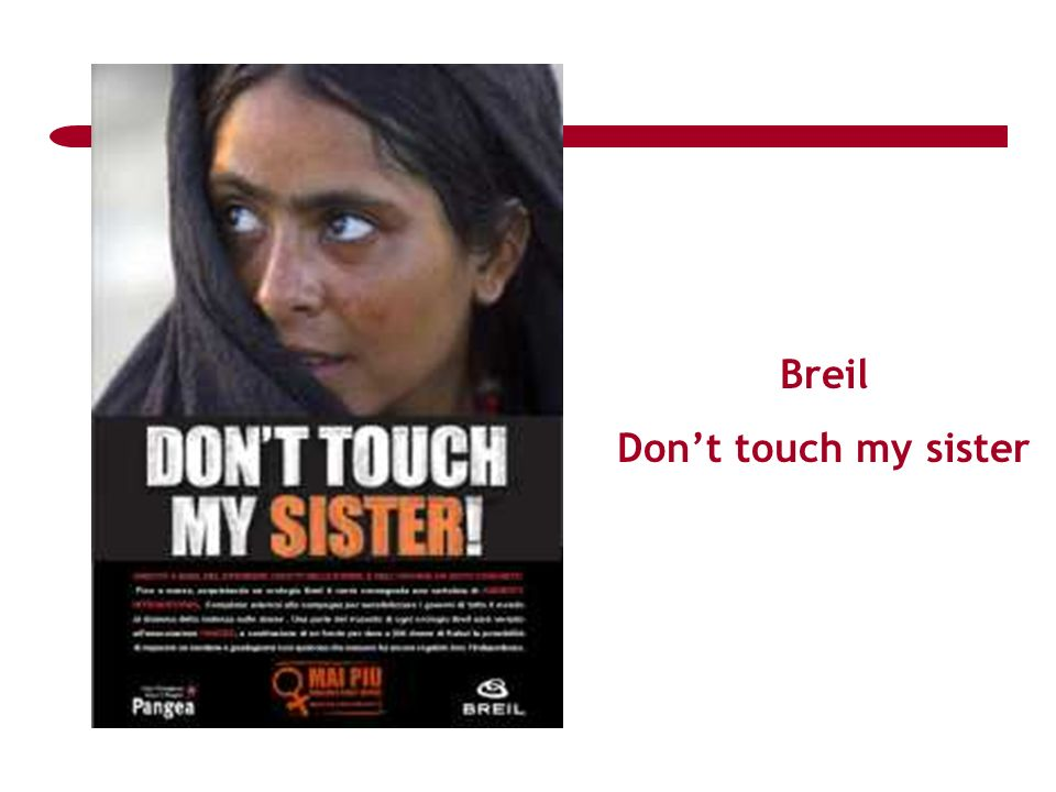 Breil Dont touch my sister