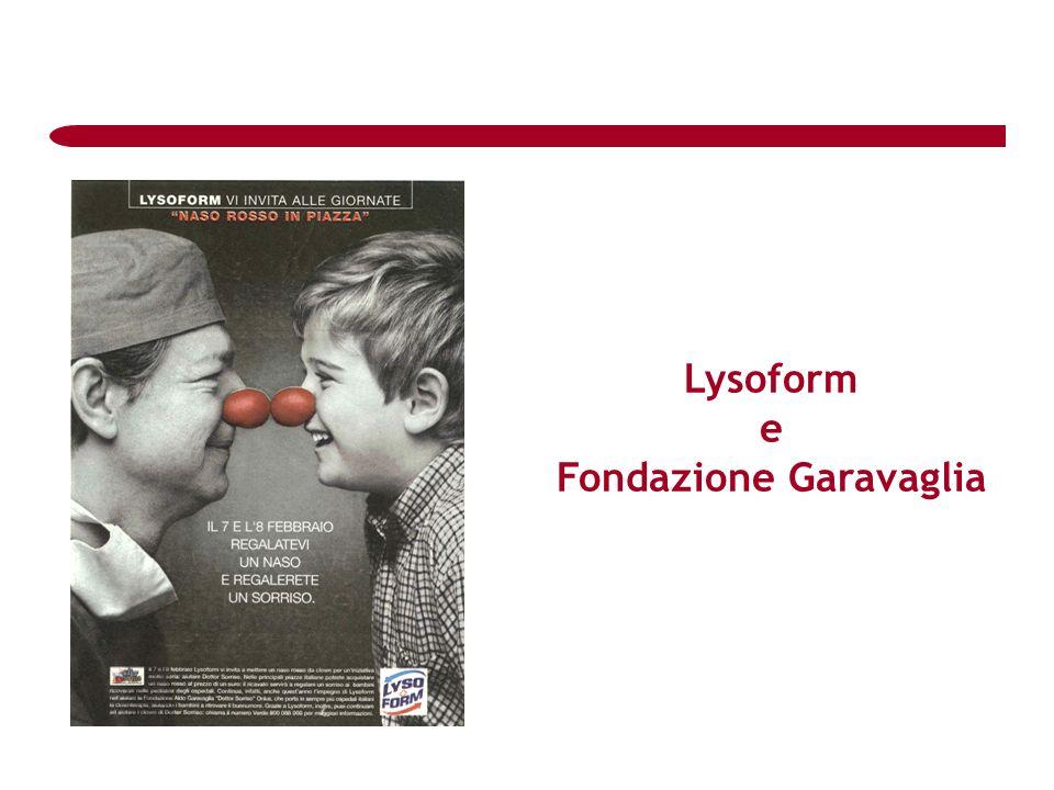 Lysoform e Fondazione Garavaglia