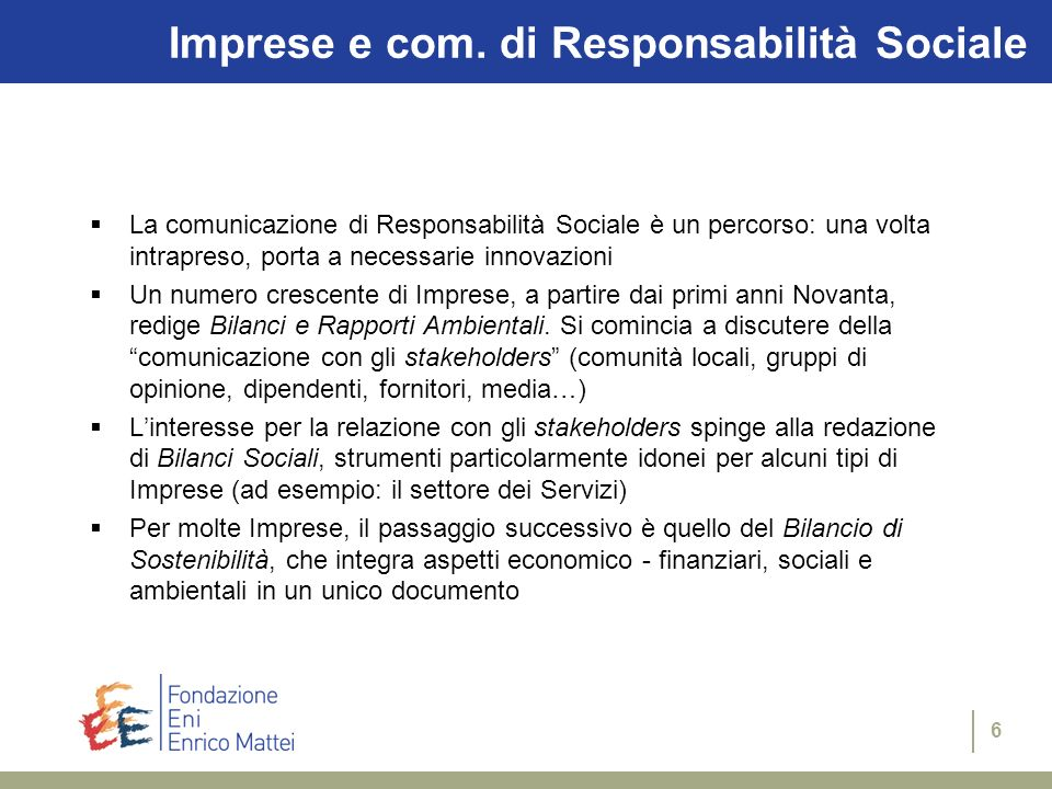 36 corso Magenta 63 20123 Milano - Italy tel+39 | 02 | 5203.6975 fax+39 | 02 | 5203.6946 webhttp://www.feem.it