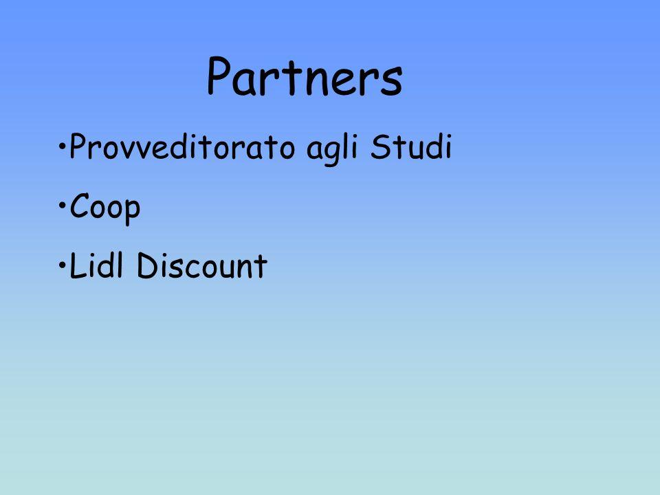 Partners Provveditorato agli Studi Coop Lidl Discount