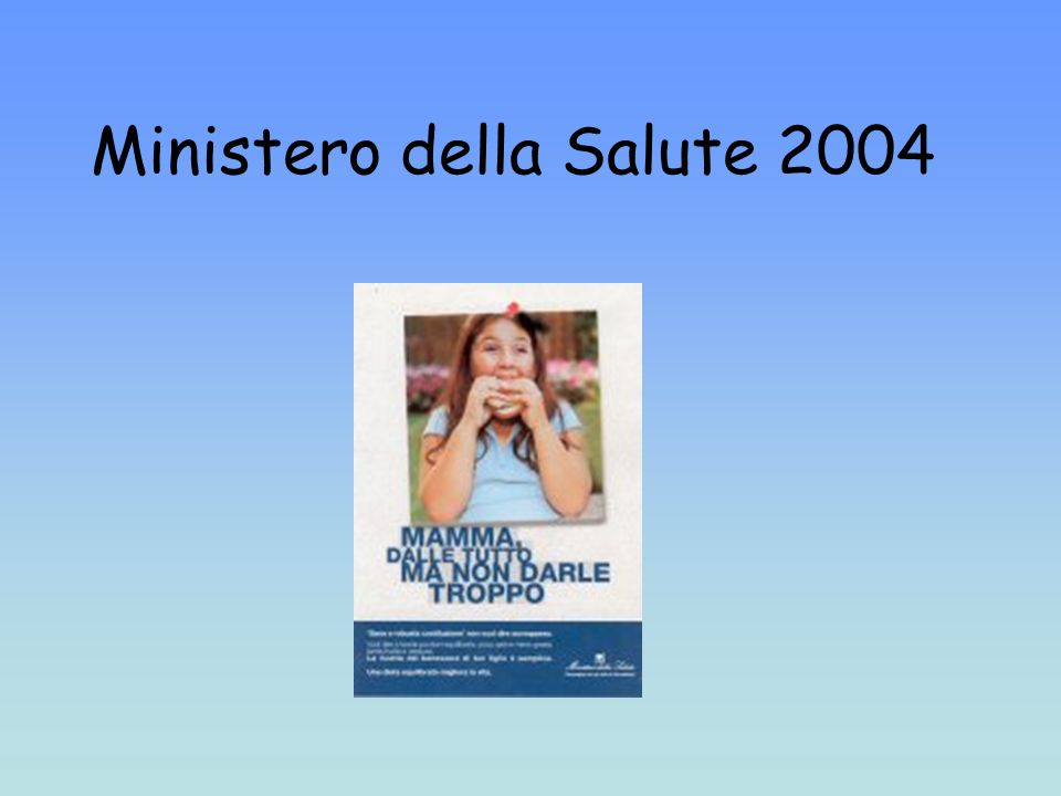 Ministero della Salute 2004