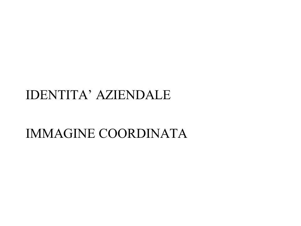 IDENTITA AZIENDALE IMMAGINE COORDINATA