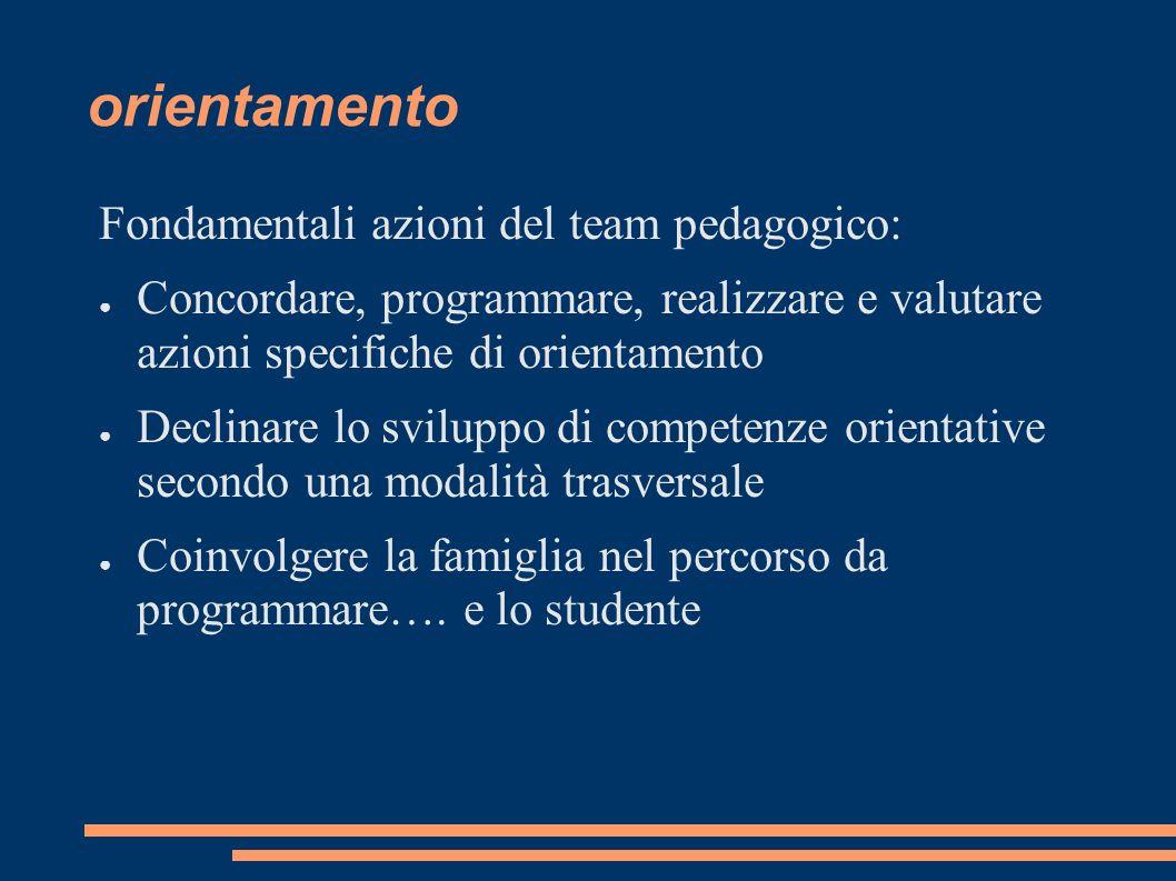 orientamento CENTRALITA DELLO STUDENTE …...