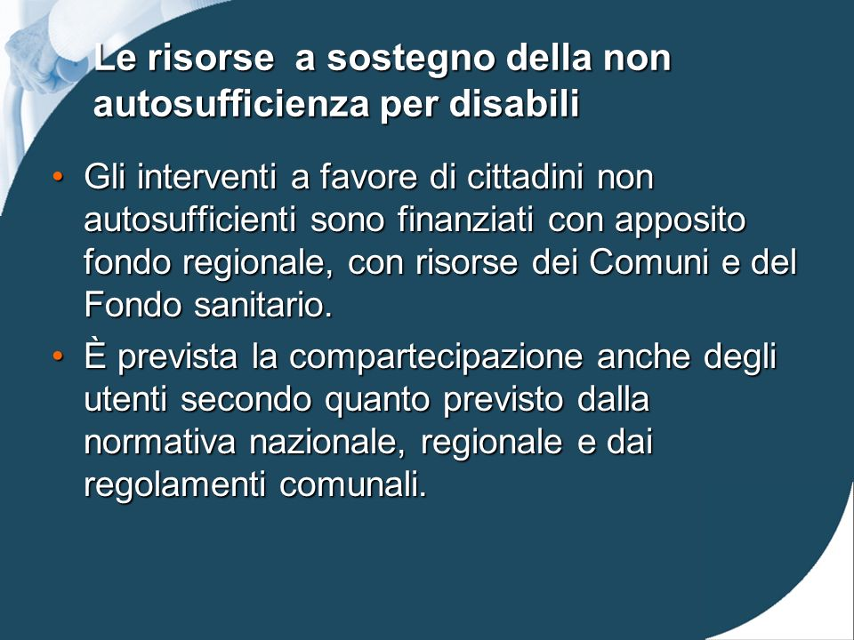 ASSISTENZA DOMICILIARE DISABILI ADULTI Anno 2008 utenti al 31/12/08 (sad + adi + educativa + educativa territoriale) % sul TOTALE utenti in carico ai Servizi Popolazione 18-64 al 31/12/2008 % in rapporto alla popolazione target n.%n.% Faenza 10637,19%52.9630,200% Lugo 9632,43%61.4870,156% Ravenna 8817,36%122.5810,072%