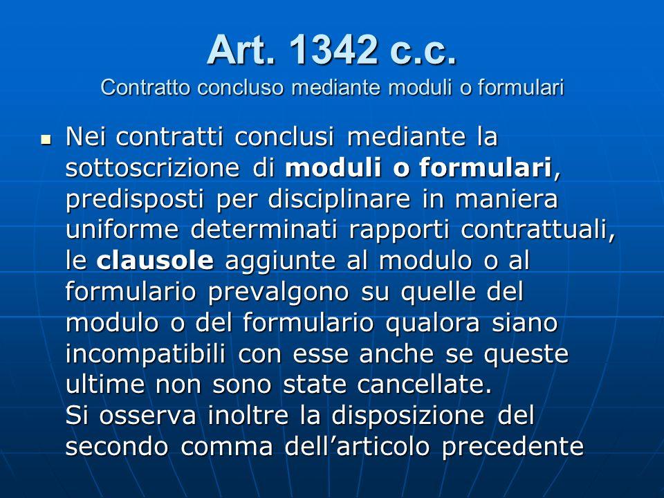 Art. 1342 c.c.