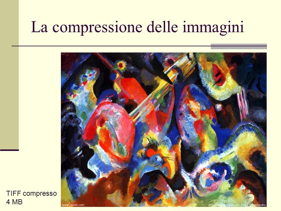 Luca A. Ludovico - LIM - DICo La compressione delle immagini TIFF compresso 4 MB