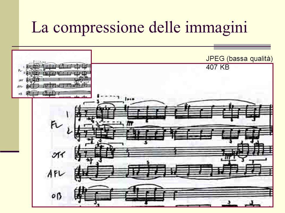 Luca A. Ludovico - LIM - DICo La compressione delle immagini JPEG (bassa qualità) 407 KB