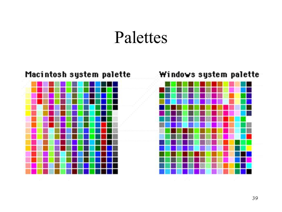 39 Palettes