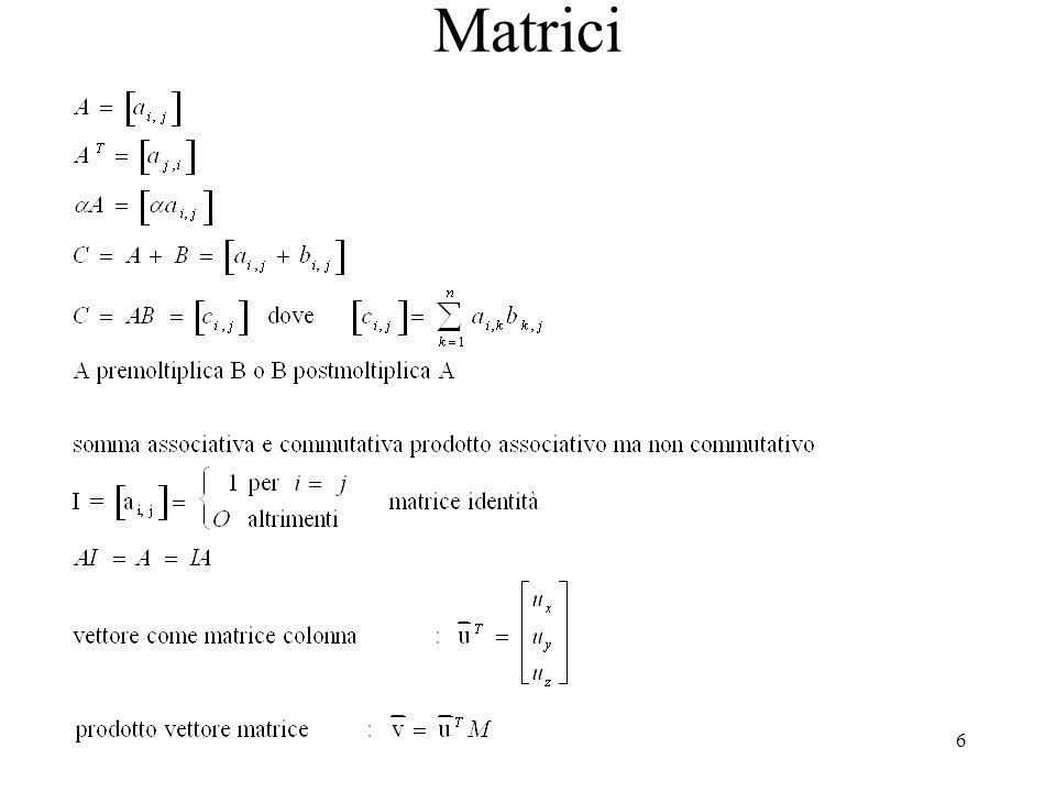 6 Matrici