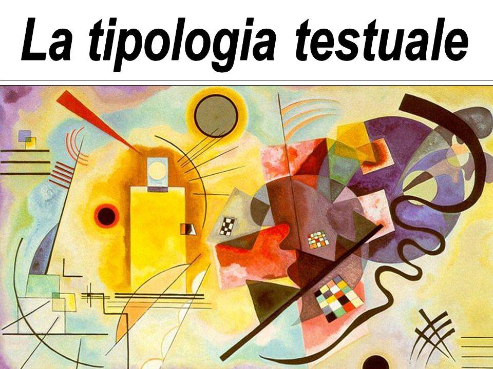 Competenza testuale e tipi di testo I linguisti riconoscono a ciascun parlante di una lingua una competenza innata.