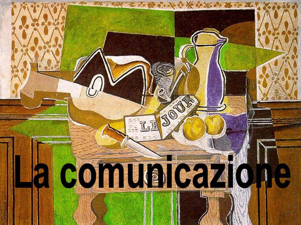 La comunicazione: definizione La comunicazione è un processo volontario di trasmissione di informazioni di varia natura che – proprio sia degli uomini che degli animali – avviene tramite segnali codificati secondo regole note sia al mittente che ai destinatari.segnali I segnali, una volta decodificati attraverso un codice, attivano una serie di processi interpretativi (interpretazione) e portano a comprensione.