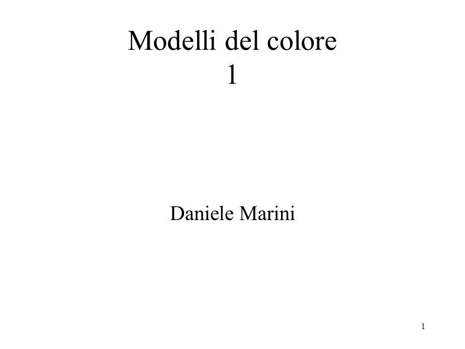 1 Daniele Marini Modelli del colore 1