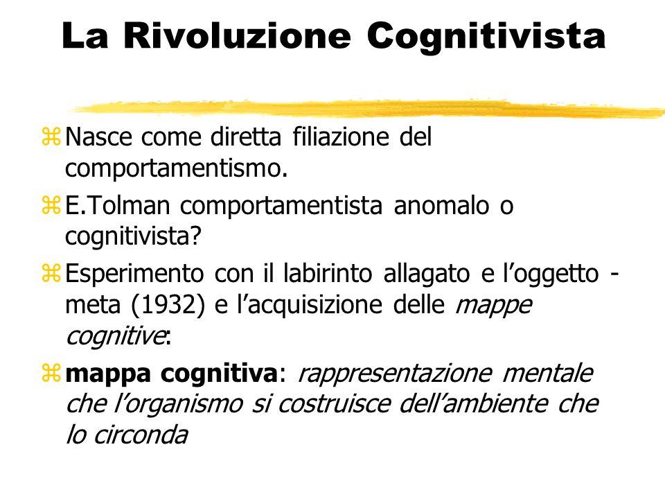 Approccio cognitivo zLo si ritrova sempre più in diverse aree quali: zNeuropsicologia zIntelligenza artificiale zRicerche applicate e di vita quotidiana zPsicologia dello sviluppo