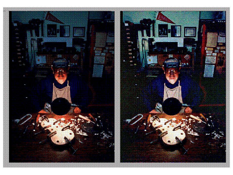 15 La soluzione svela il problema Questo è più simile al colore che avremmo visto anche noi.